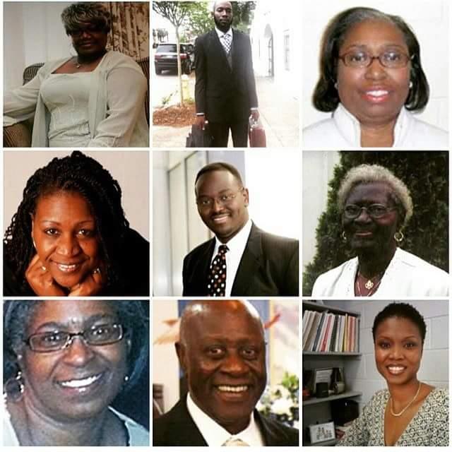 Charleston shooting victims