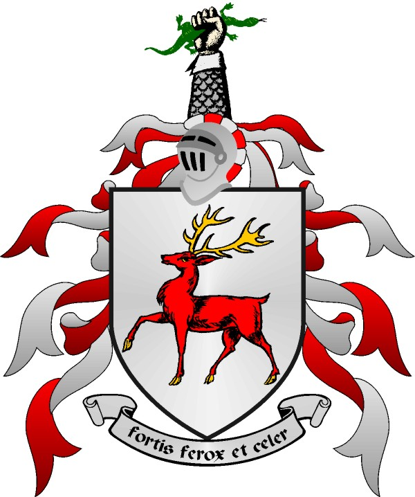 The story of why the Stag motif is on clans of the Eoghanacht family arms... a rather gorey practice from pagan times to mark new land...