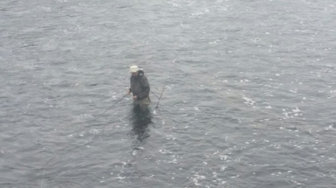 The Salmon Fisher - River Corrib in Galway