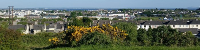 Galway City by the Sea - looking over the Westside