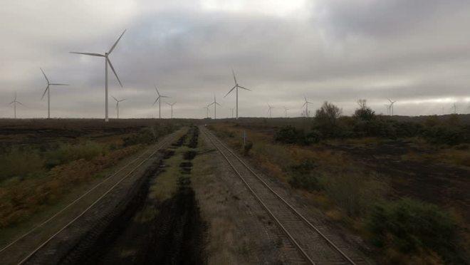 Windfarm in Daingean