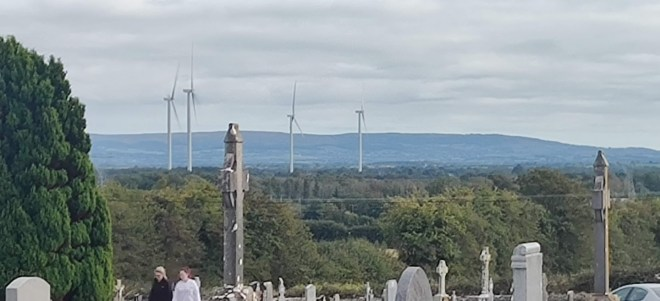 Keeraun Hill cemetry in Banagher where my parents lie