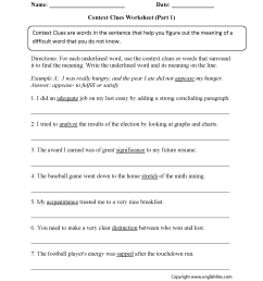 Worksheets For Visual Clues   Printable Worksheets and Activities for  Teachers [ 2200 x 1700 Pixel ]