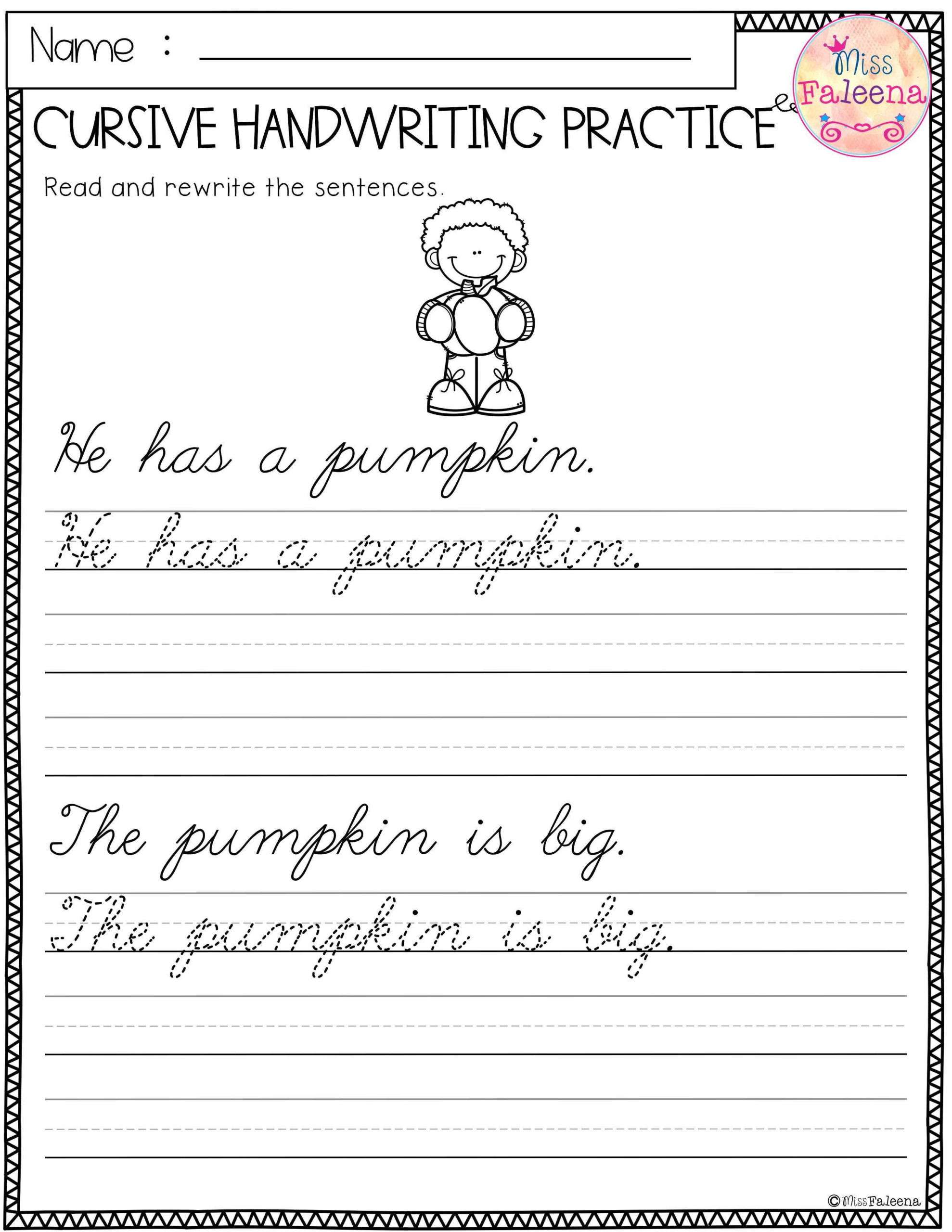 hight resolution of 1st Grade Writing Practice Worksheets   Printable Worksheets and Activities  for Teachers