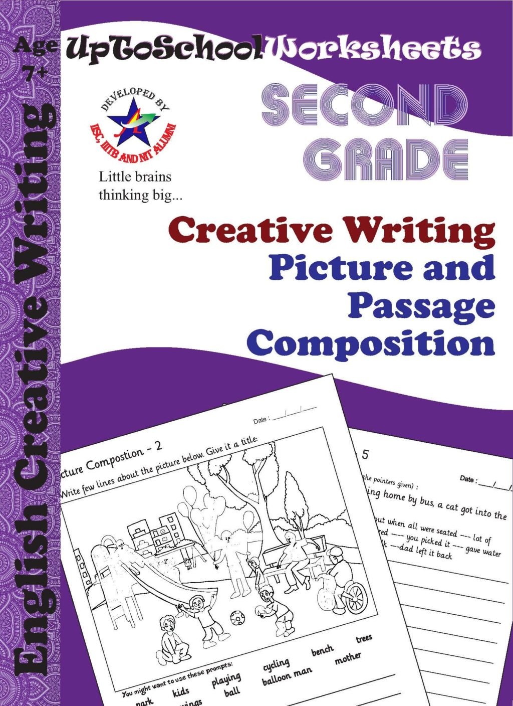 English Creative Writing Worksheets For Grade 2