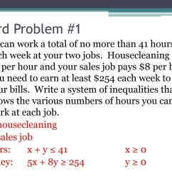 Writing Inequalities Word Problems Worksheet   Printable Worksheets and  Activities for Teachers [ 768 x 1024 Pixel ]