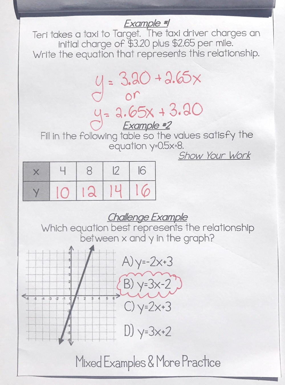medium resolution of Linear Equations Fun Worksheet   Printable Worksheets and Activities for  Teachers