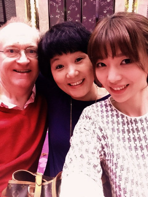 Will, Yvonne and her Daughter, Shu Fang