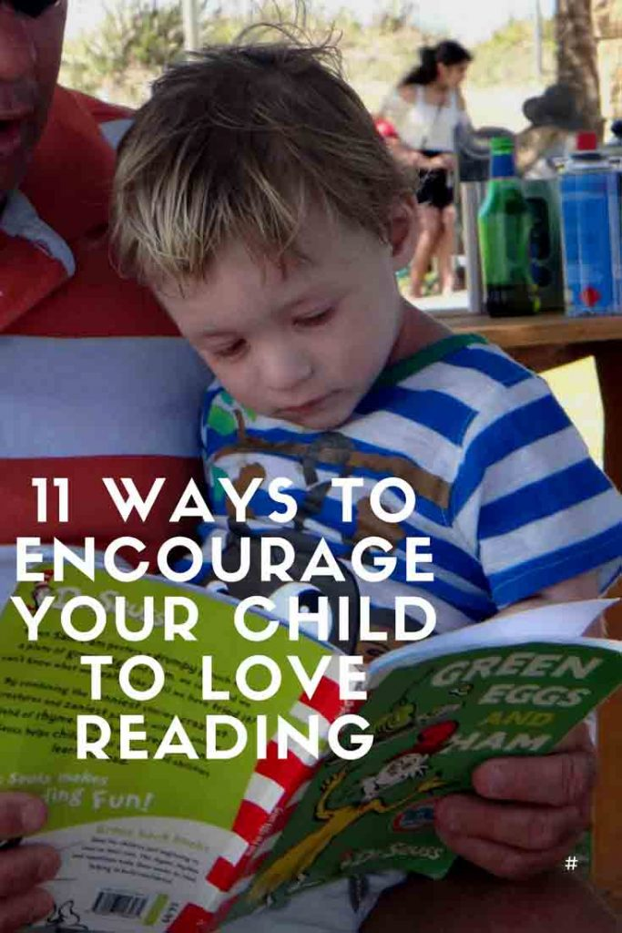 https://www.writteninwaikiki.com/11-ways-to-encourage-your-child-to-love-reading/ child toddler reading read book