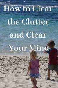 how to clear the clutter and clear your mind pinterest kids at beach Yallingup Western Australia