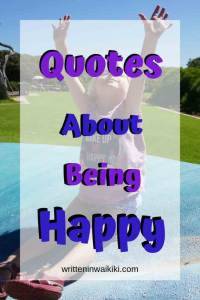 quotes about being happy pinterest happy girl with arms up