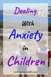 Dealing with anxiety in children pinterest kids at beach