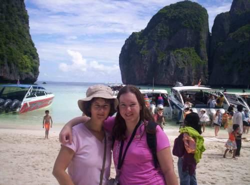 mum and daughter Phuket Thailand