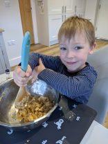 Henry's baking