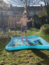 Louie's paddling pool