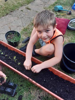 Isaac gardening
