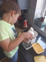 Isaac baking