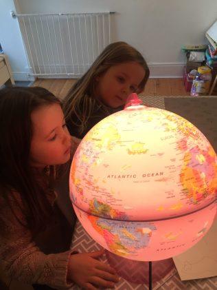 Ruby's globe