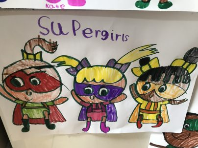 Darcey's supergirls!