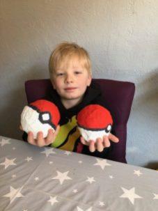Max's Pokemon balls