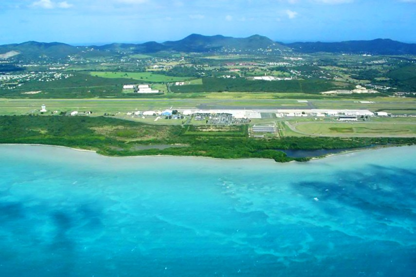 Virgin Islands St Croix, Henry Rohlsen Airport