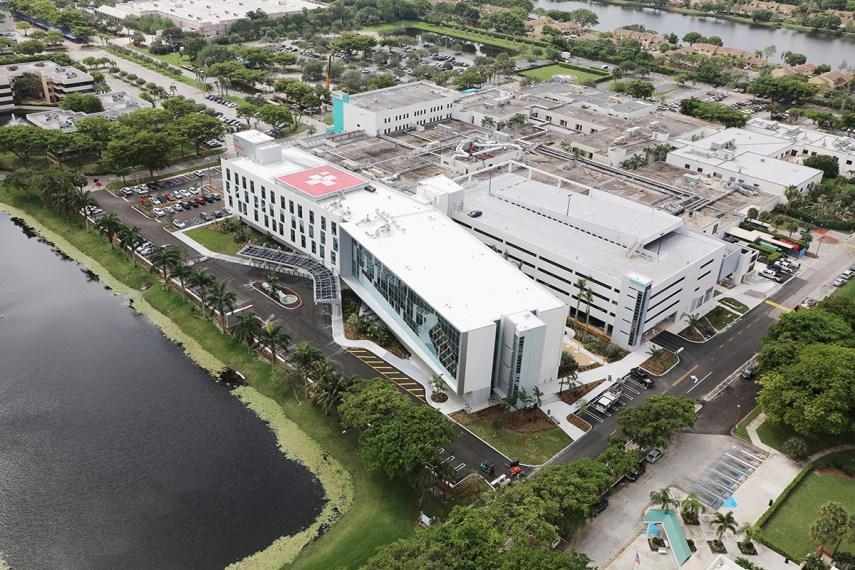 Delray Medical Center Patient Tower Amp Parking Garage