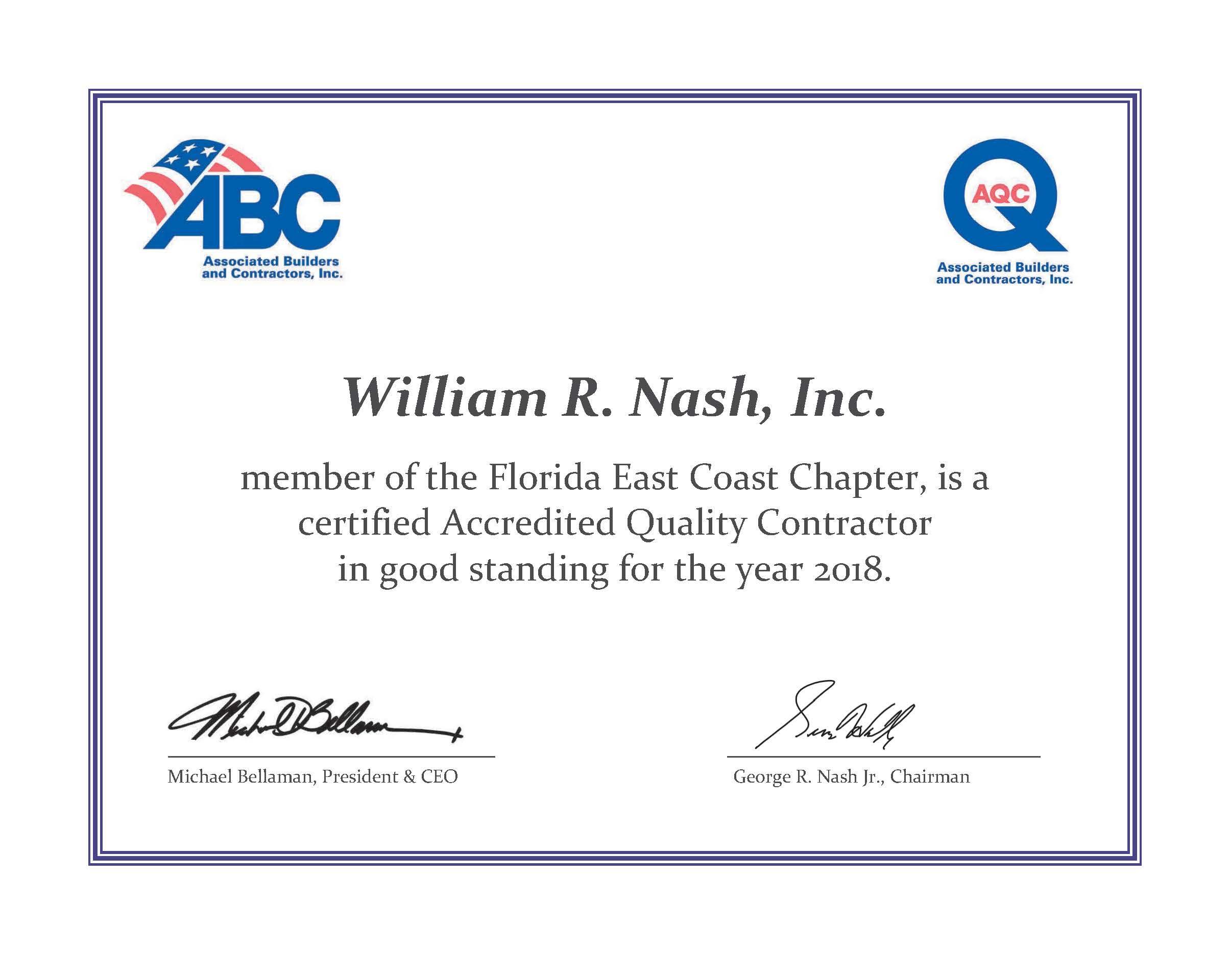 What's New – William R  Nash