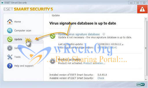 eset Nod32 antivirus activation process