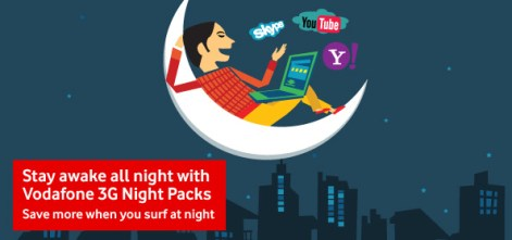 Vodafone Introduce Night Pack