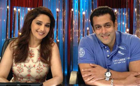 20 years of Madhuri Dixit and Salman Khan's eternal love story ...