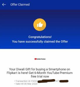YouTube Premium 6 Month Membership For Free