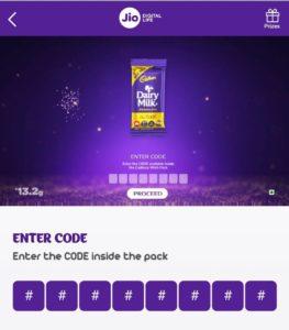 Jio Cadbury Wishpack