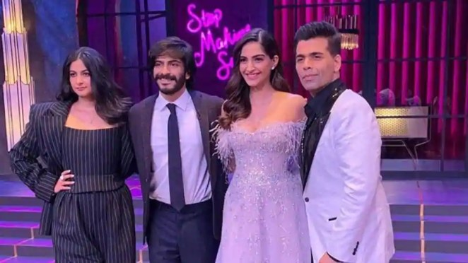Sonam Kapoor appears on Koffee With Karan with siblings Rhea ...