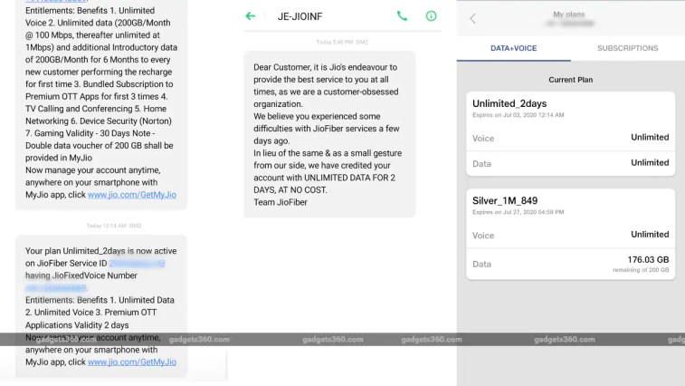 Jio Fiber Offering Two Days of Free Calls, Data to Select Users for Recent Disruptions