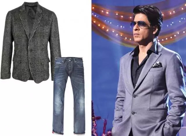 "I get put off by ill-fitting jeans"" - SRK 