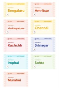 Get Goa Hyderabad City Cards In Google Pay Go India