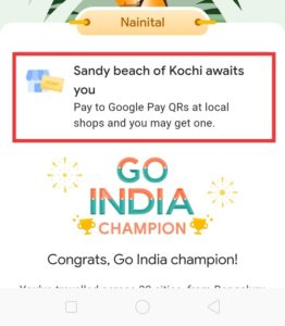 Trick To Get Kochi Ticket In Go India Game