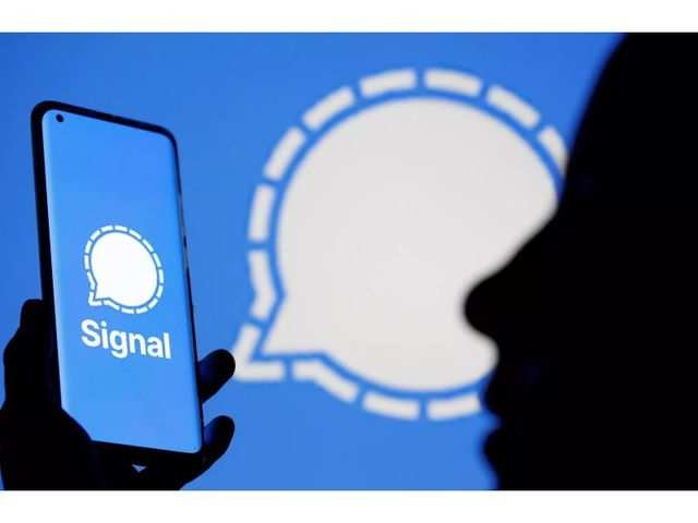 How to take chat backup on Signal