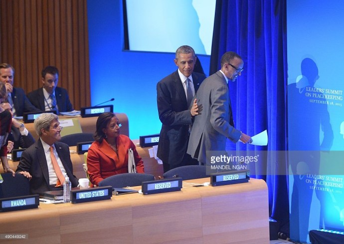 Kagame Obama
