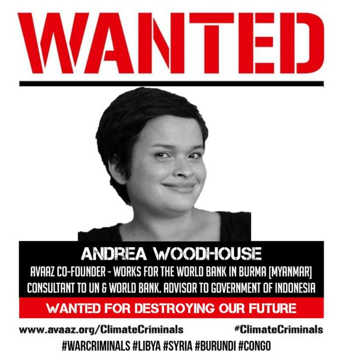 WANTED ANDREA WOODHOUSE FUTURE