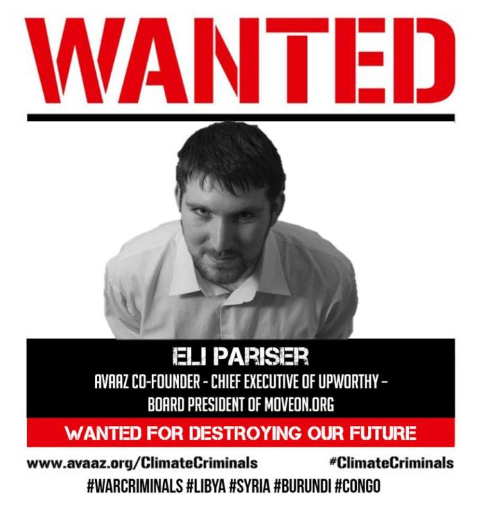 WANTED ELI PARISER FUTURE