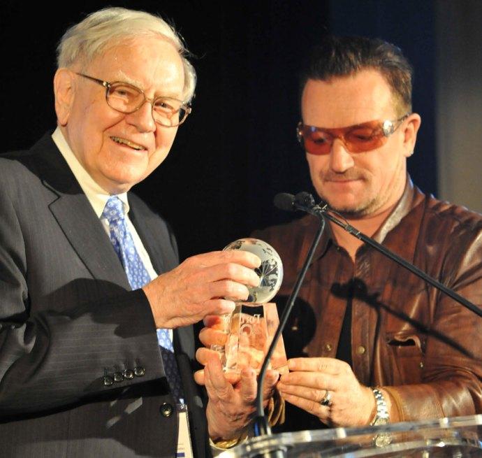 Bono & Buffett