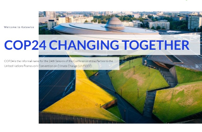 "2018, COP24, United Nations: ""Changing Together"""