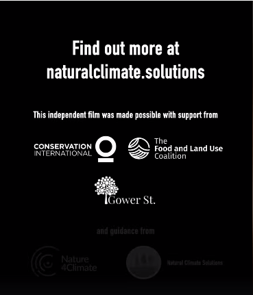 "The Thunberg-Monbiot film, emphasizing the urgency of funding ""natural solutions"", was paid for by Conservation International and the aforementioned *Food and Land Use Coalition, with ""guidance"" provided by Nature4Climate (The Nature Conservancy, We Mean Business, WWF, UN-REDD, et al.) and Natural Climate Solutions. [*Member foundations include ClimateWorks, the David & Lucile Packard Foundation, the Ford Foundation, the Gordon & Betty Moore Foundation, Good Energies, and Margaret Cargill.]"
