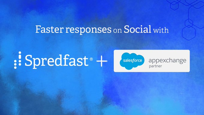 "Spredfast: ""Seamless interactions and a 360-customer view, now possible with our @salesforce Social Care integration."""