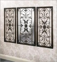 Wrought Iron Decorative Wall Panels, Wrought Iron Panels