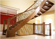 How To Install Wrought Iron Balusters Balusters Installation   Installing Wrought Iron Balusters   Wood   Stair Balusters   Railing   Stair Parts   Iron Stair Spindles