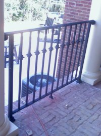 Cast Iron Columns Railing