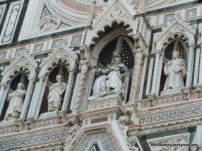 Rzeżby na katedrze Santa Maria del Fiore we Florencji