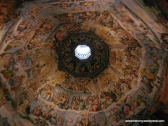 Wnętrze kopuły Brunelleschiego